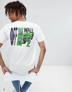 Белая футболка с принтом Vans x Marvel VA3HUQWHT - Белый