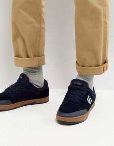 Темно-синие кроссовки Etnies Marana - Темно-синий