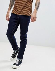 Синие джинсы слим LDN DNM - Синий
