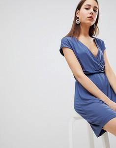 Платье с запахом Brave Soul Crissy - Синий