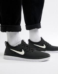 Черные кроссовки для скейтбординга Nike SB Nyjah Free AA4272-001 - Черный