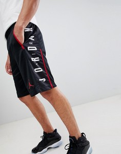 Черные шорты с принтом Jordan Rise 888376-010 - Черный