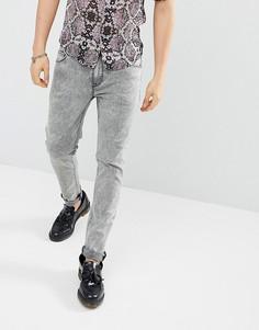 Серые джинсы скинни ASOS DESIGN - Серый