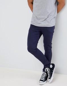 Темно-синие джинсы скинни ASOS DESIGN - Темно-синий
