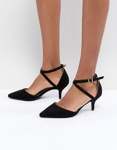 Туфли-лодочки на каблуке-рюмочке RAID LYLA - Черный