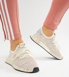 Кроссовки с сетчатым верхом adidas Originals Pride Deerupt - Мульти