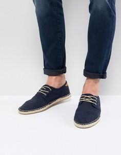 Темно-синие эспадрильи со шнуровкой TOMS - Темно-синий