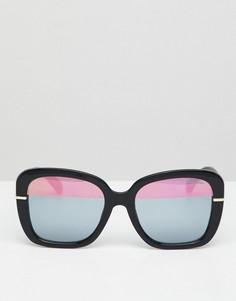 Большие солнцезащитные очки Black Phoenix - Черный