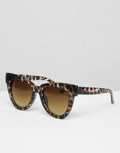 Черепаховые солнцезащитные очки Glamorous - Коричневый