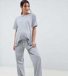 Комбинируемые пижамные брюки ASOS DESIGN Maternity - Серый