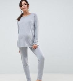 Комбинируемые пижамные леггинсы ASOS DESIGN Maternity - Серый