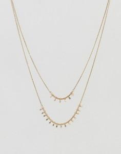 Ожерелье с подвесками-кисточками Nylon - Золотой