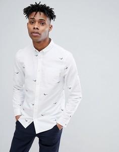 Белая оксфордская рубашка Jack Wills Bastow - Белый