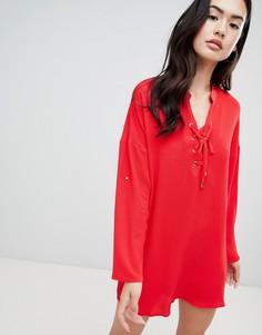 Платье QED London - Красный