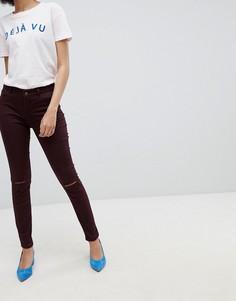 Рваные зауженные джинсы Urban Bliss - Фиолетовый