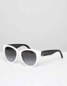 Белые квадратные солнцезащитные очки Marc Jacobs 181/S - Белый