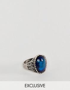 Кольцо Reclaimed Vintage эксклюзивно для ASOS - Серебряный
