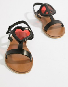 Сандалии Love Moschino - Черный