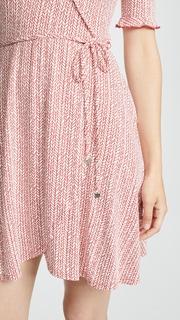 Three Dots Wrap Dress