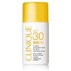 CLINIQUE Солнцезащитный минеральный флюид для лица Mineral Sunscreen Fluid For Face SPF30 30 мл
