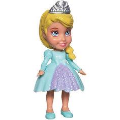 """Мини-кукла """"Холодное сердце"""" Эльза в голубом платье, 7.5 см Disney"""
