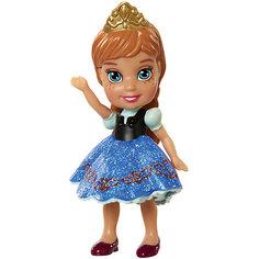 """Мини-кукла """"Холодное сердце"""" Анна в синем платье, 7.5 см Disney"""