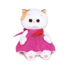 Мягкая игрушка Budi Basa Кошечка Ли-Ли Baby в розовом сарафане и с арбузиком, 20 см