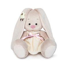 Мягкая игрушка Budi Basa Зайка Ми в желтом платье и совенком на ушке, 18 см