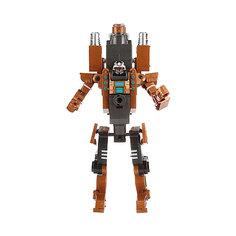 Робот-бластер 2в1 с мягкими снарядами, защитные очки в комплекте, 32х13х25,5 см ShantouGepai