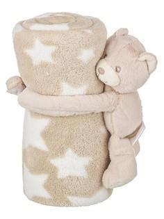 Плед детский (75х100 см) Звездный мишка