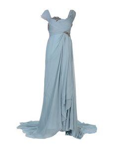 Длинное платье Marchesa