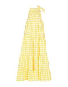 Длинное платье Marques Almeida