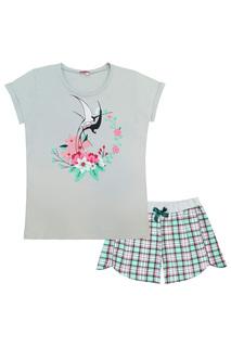 Комплект: футболка, шорты LETS GO