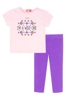 Комплект: футболка, лосины LETS GO