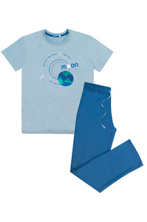 Комплект: футболка, брюки LETS GO