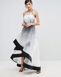 Платье макси в крапинку Coast Alysha - Мульти