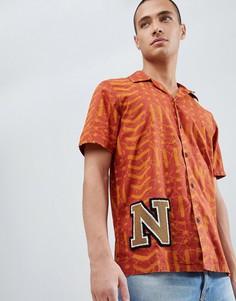 Рубашка с короткими рукавами Nudie Jeans Co Brandon - Белый