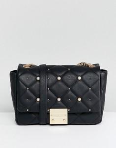 Стеганая сумка Carvela - Черный
