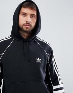 Черный худи adidas Originals Authentic DH3851 - Черный