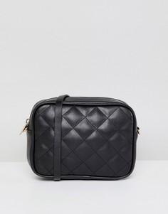 Стеганая сумка через плечо Monki - Мульти