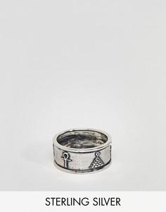 Серебряное кольцо в египетском стиле ASOS DESIGN - Серебряный
