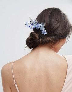 Заколка для волос с камнями и искусственным жемчугом ASOS DESIGN - Мульти