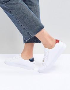 Классические кроссовки на шнуровке Tommy Hilfiger - Белый