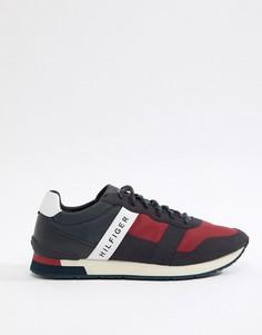 Кроссовки с логотипом и отделкой красного, белого и синего цвета Tommy Hilfiger - Мульти