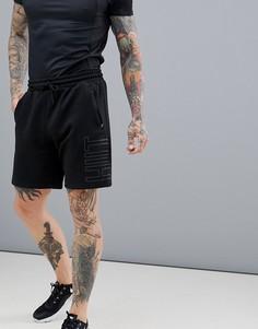 Черные шорты HIIT - Черный