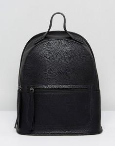 Рюкзак с карманом Liquorish - Черный