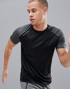 Спортивная футболка с рукавами реглан и круглым вырезом Dare 2b - Черный