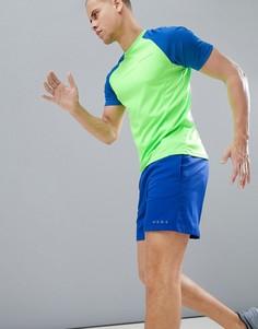 Спортивная футболка с рукавами реглан и круглым вырезом Dare 2b - Зеленый
