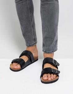 Черные сандалии Brave Soul - Черный