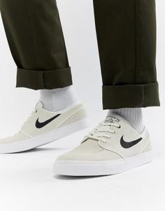 Бежевые кроссовки Nike SB Zoom Stefan Janoski 333824-107 - Зеленый